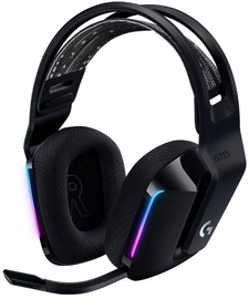 Logitech G733 Over-Ear Wireless Gaming Headset Black