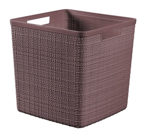 Curver Jute Cube Basket 17l Brown