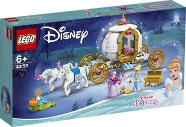 Constructor LEGO Disney Princess Cinderellas Royal Carriage 43192