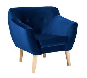 Fotelis Signal Meble Bergen 1 Velvet Blue, 78x54x76 cm