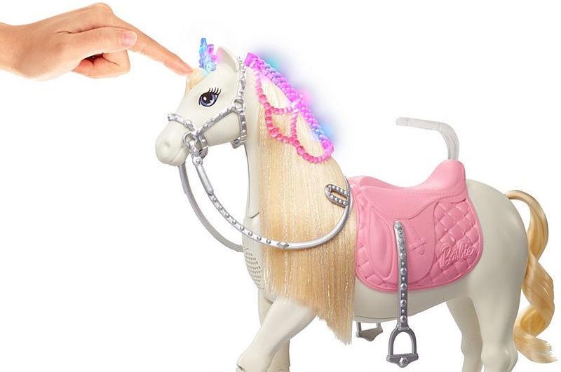 Кукла Mattel Barbie Princess Adventure Prance & Shimmer Horse GML79