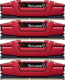 G.SKILL RipJawsV 16GB 2800MHz CL15 DDR4 KIT OF 4 F4-2800C15Q-16GVR