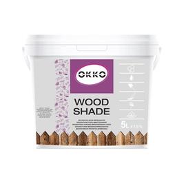 Impregnantas Okko Wood Shade, tamsaus ąžuolo spalvos, 5 l