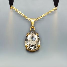 Diamond Sky Pendant Venus II Rose Patina With Swarovski Crystals