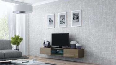 Cama Meble Vigo Glass TV Stand Latte/Latte Gloss