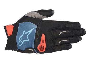 Alpinestars Drop Pro Gloves M Blue/Orange