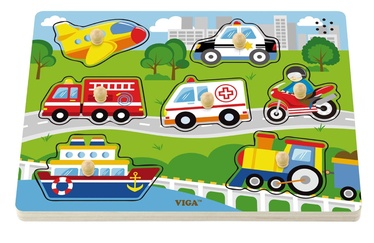 Viga Sound Puzzle Transportation 51274