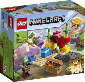 Konstruktorius Lego Minecraft Koralinis rifas, 21164