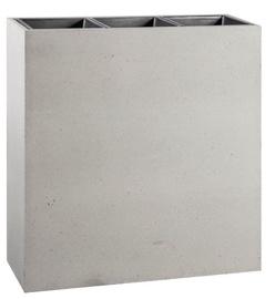 Home4you Flowerpot Sandstone 94.5x34.5x98 Grey