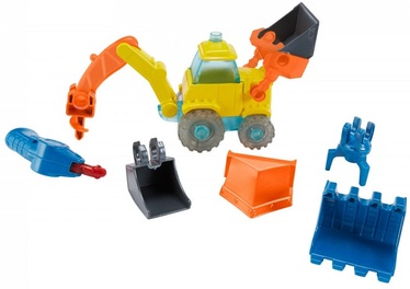 Mattel Bob the Builder Talking Excavator Build Me FFX71
