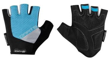Force Dart Short Gloves Blue Grey L