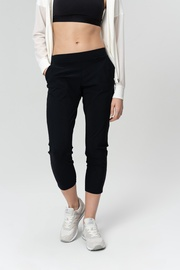 Audimas Light Sensetive Crop Pants Black XS