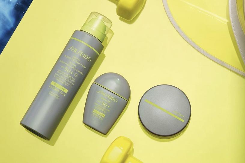 Shiseido Sun Care Sports Bb Compact Foundation SPF50 12g Medium Dark