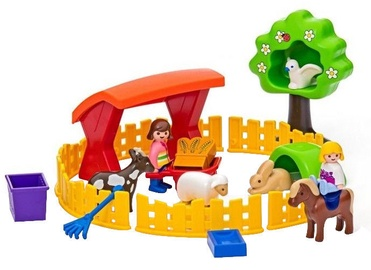 Playmobil 1 2 3 Mini Zoo 6963