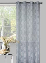 Domoletti Day Curtains Karo Grey 140x245cm
