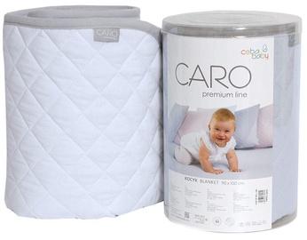 Ceba Baby Caro Premium Line Blanket 90x100cm Blue