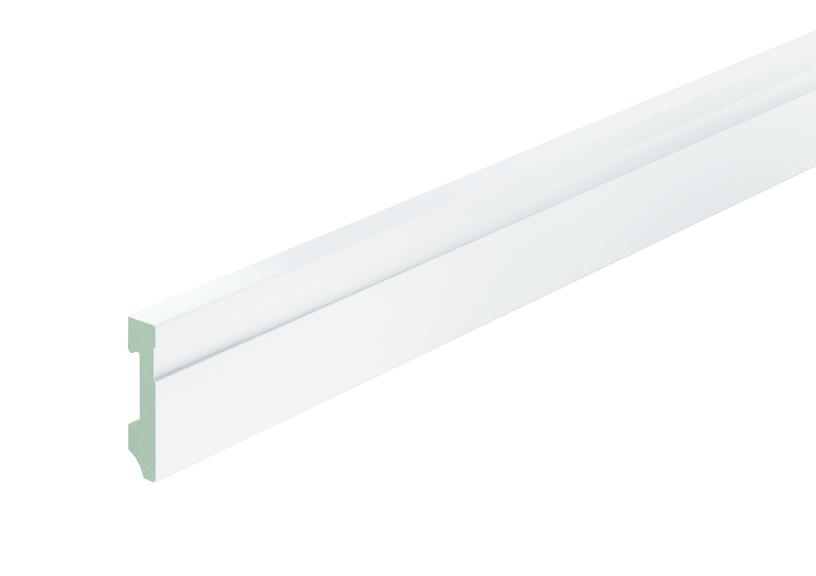 Neuhofer Holz K0203OC 713217 Plastic Skirting 70mm White