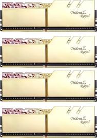 G.SKILL Trident Z Royal Gold 32GB 3600MHz CL14 DDR4 KIT OF 4 F4-3600C14Q-32GTRGB