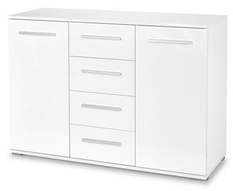 Комод Halmar Lima KM-4, белый, 40x116x82 см