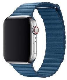Devia Elegant Leather Loop For Apple Watch 40mm Blue