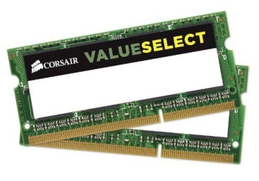 Corsair 8GB 1600MHz DDR3 SO-DIMM KIT OF 2 CMSO8GX3M2C1600C11