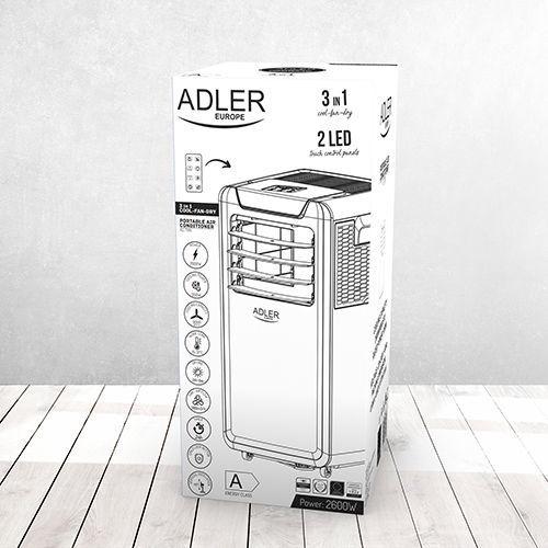 Кондиционер Adler AD 7916, 2.6 kW