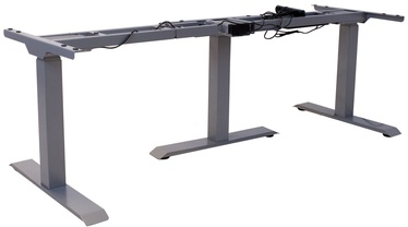 Table Leg Ergo 3 Gray
