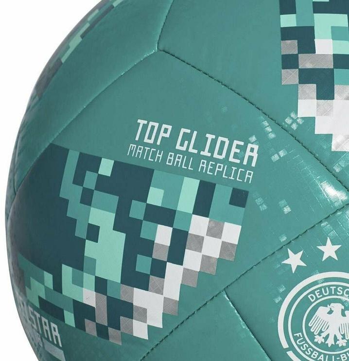 Adidas Telstar Top Glider World Cup 18 Ball CE9974 Green Size 5
