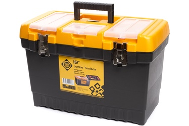 Forte Tools JMT-19 Toolbox 486x267x320mm Black/Yellow
