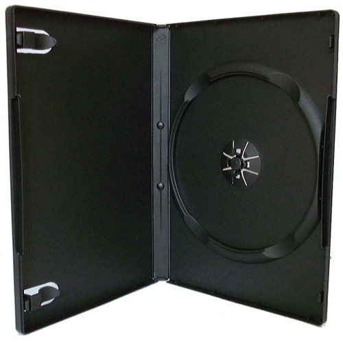 Esperanza 3005 DVD Box 100 pcs Black