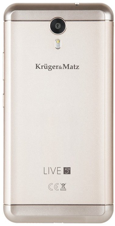 Kruger & Matz LIVE 5 Plus Dual Gold ENG