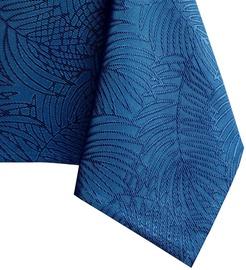 Скатерть AmeliaHome Gaia, синий, 1600 мм x 1400 мм