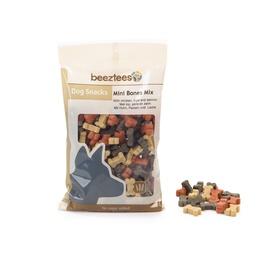 Skanėstai šunims Beeztees Mini Bones Mix, su vištiena ir lašiša, 150 gr