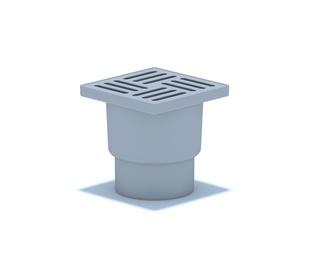 Grīdas traps Aniplast TA1210 150x150mm, D110mm