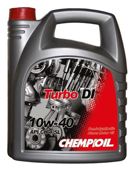 db0abb91281 Mootoriõli Chempioil Turbo DI 10W-40, 5l - Krauta.ee