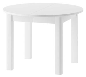 Pusdienu galds Szynaka Meble Indus White, 1050x1050x760 mm