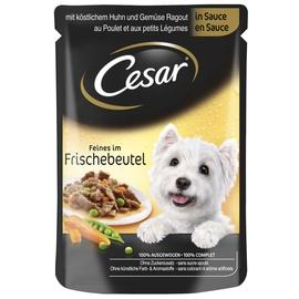 Konservuotas ėdalas šunims Cesar, su vištiena, 100 g