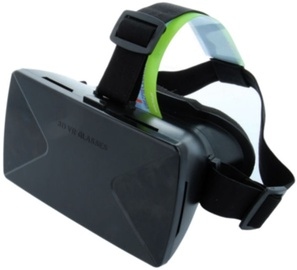 "Setty 3D Universal Virtual Reality Glasses For 3.5-6"" Black"