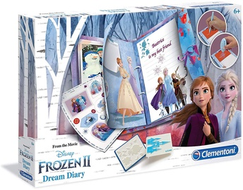Dekorēšanas komplekts Clementoni Disney Frozen II Dream Diary 18518