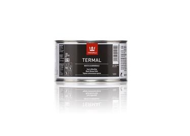 Termoizturīga krāsa Tikkurila Termal, 0,33l, melna