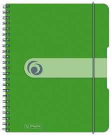 Herlitz Spiral Pad To Go A5 Green 11293784