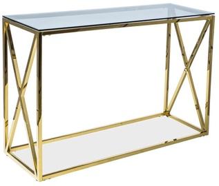Консольный стол Signal Meble Elise C Gold, 1200x400x780 мм