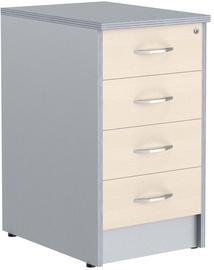 Skyland Office Cabinet Imago TP-4 Maple/Metallic