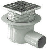 Ani Plast Horizontal Trap with Stainless Grill 50
