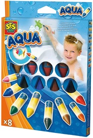 SES Creative Aqua Colouring In The Bath 8pcs 13022