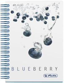 Herlitz Spiral Notepad A6 Fresh Fruit Blueberry 11292133