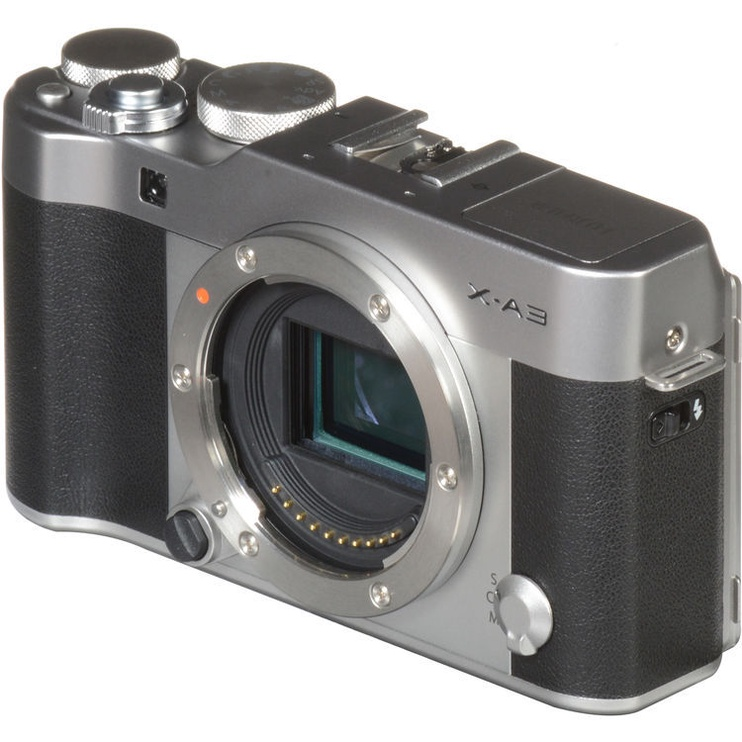 Fujifilm X-A3 Mirrorless Digital Camera + 16-50mm Lens Silver