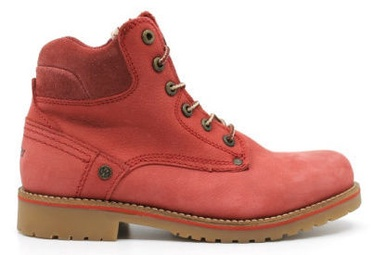 Wrangler Yuma Lady Fur Leather Winter Boots Red 39