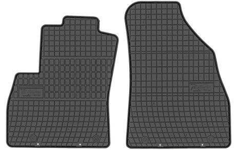Резиновый автомобильный коврик Frogum Citroen Nemo / Fiat Fiorino / Peugeot Bipper Front, 2 шт.