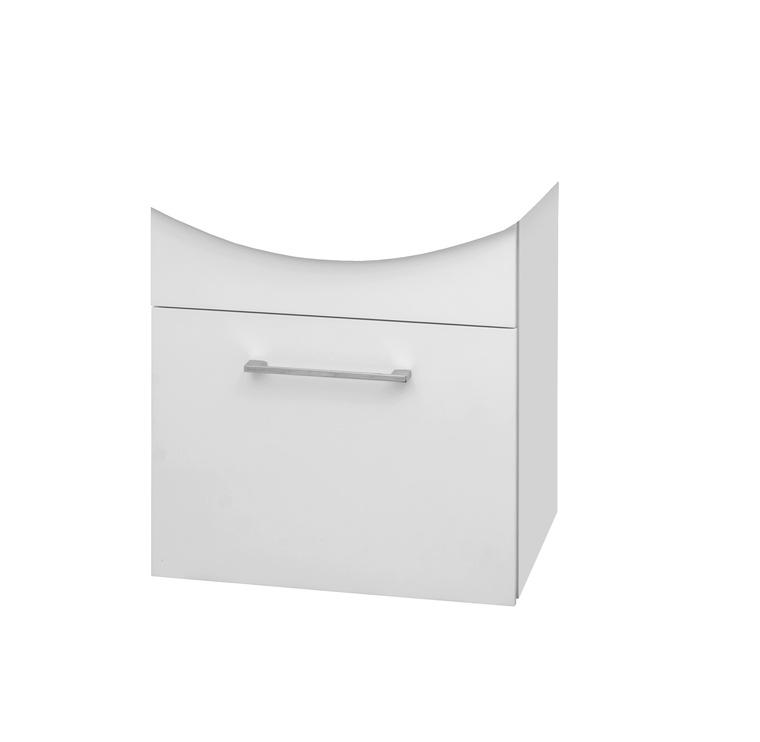 Pakabinama vonios spintelė Riva SA55-3, balta